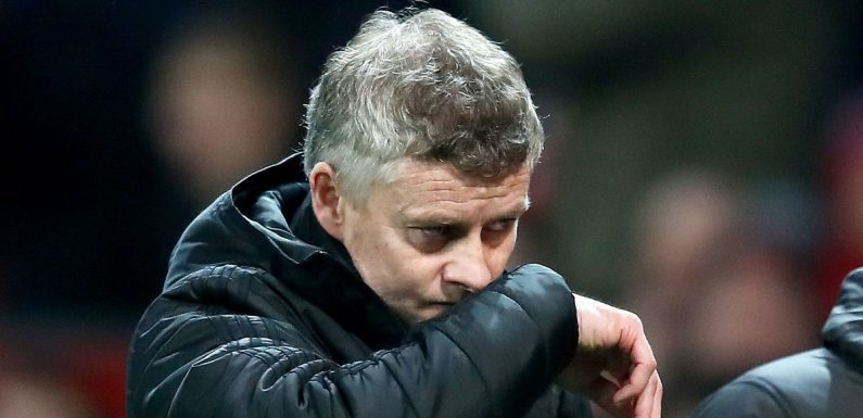 """Solskjaer told he will be sacked if Man Utd lose """"enormous"""" Everton clash"""