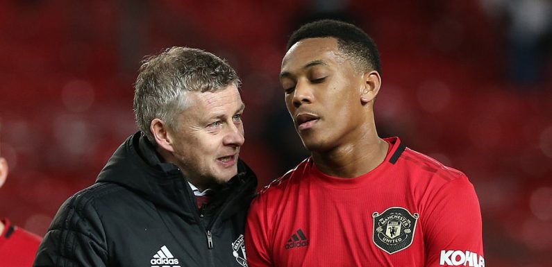 Solskjaer offers theory behind Anthony Martial's slow start at Man Utd