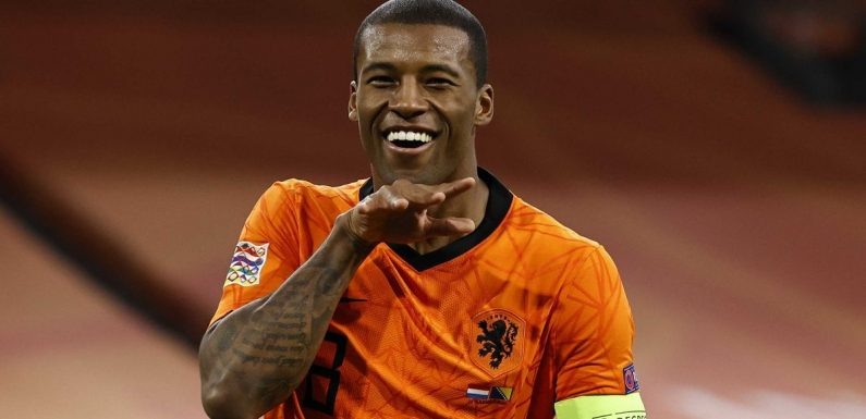 Wijnaldum pays tribute to Liverpool pal Virgil van Dijk with 'class' gesture