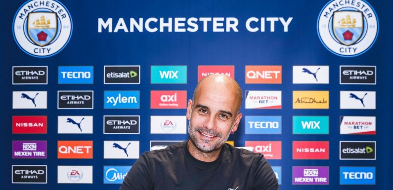 Pep Guardiola explains decision to sign new Manchester City contract