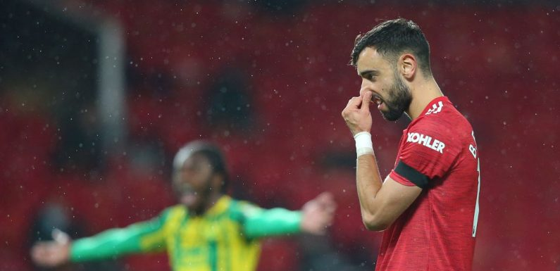 """Fernandes slams his own penalty taking and insists Man Utd can do """"a lot better"""""""