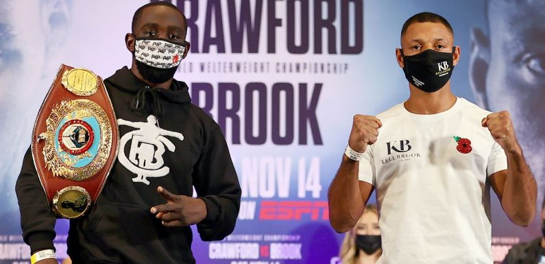 Kell Brook vs Terence Crawford UK start time, TV channel and live stream