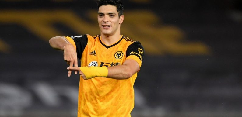 Wolves striker Raul Jimenez confirms Man Utd transfer approach
