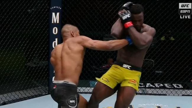 Murderous knockout rocks the UFC