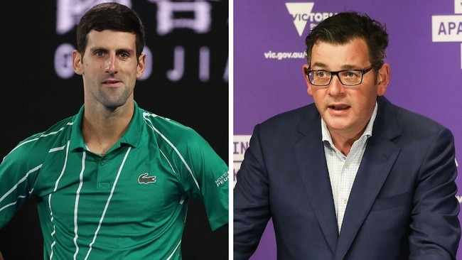 Government calls put Australian Open in 'jeopardy'