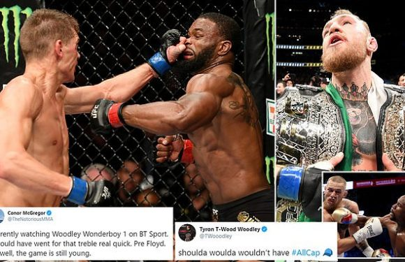 Conor McGregor reveals his regret at not challenging Tyron Woodley