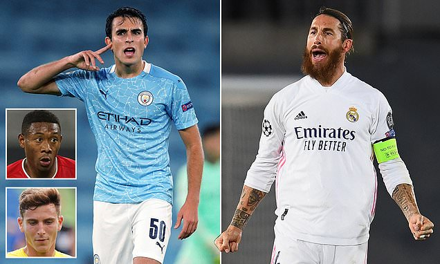 Real to fight Barca for City's Eric Garcia to replace Sergio Ramos