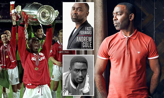 Andrew Cole reveals how beatings from his miner father shaped his life