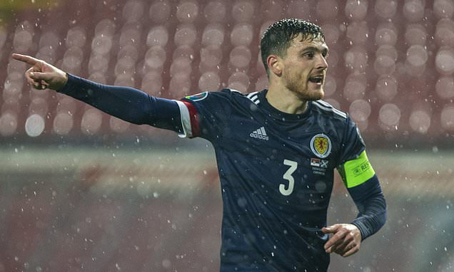 Liverpool's Andy Robertson doubtful for Scotland game