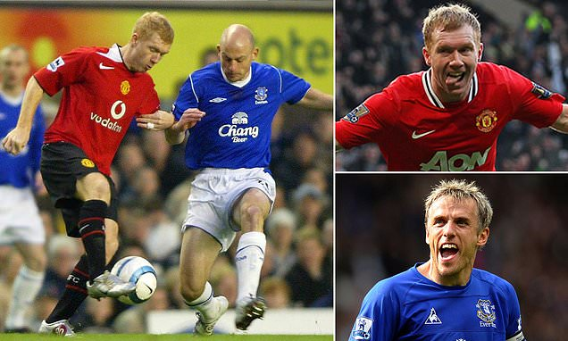 Scholes: Phil Neville tried to persuade me to sign for Everton