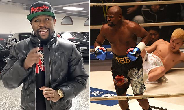 Mayweather set for sensational return with fight in Japan next year