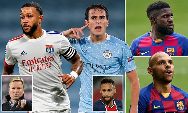 Barcelona must sell FOUR players to fund January transfer targets