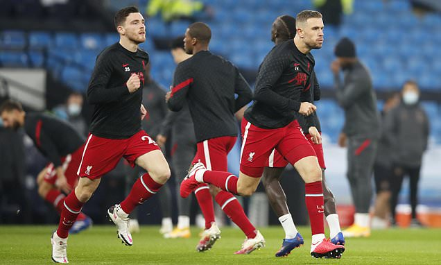 Jordan Henderson and Andy Roberston in fitness race for Liverpool