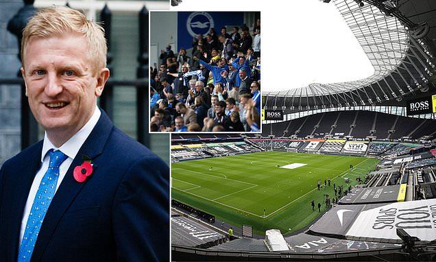 EXCLUSIVE Football fans could be back in grounds BEFORE Christmas