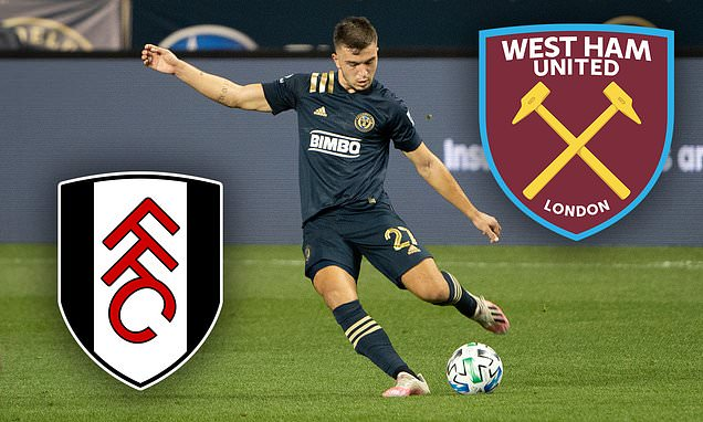 West Ham and Fulham eyeing up £3.5m move for MLS star Kai Wagner