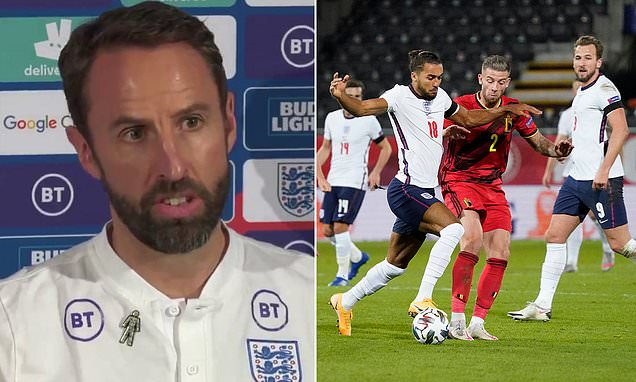Southgate insists England were EXCITING during 2-0 defeat by Belgium