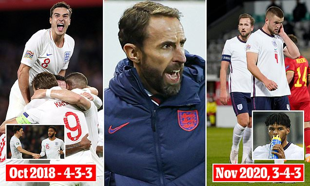 What formation should Southgate persevere with at next summer's Euros?