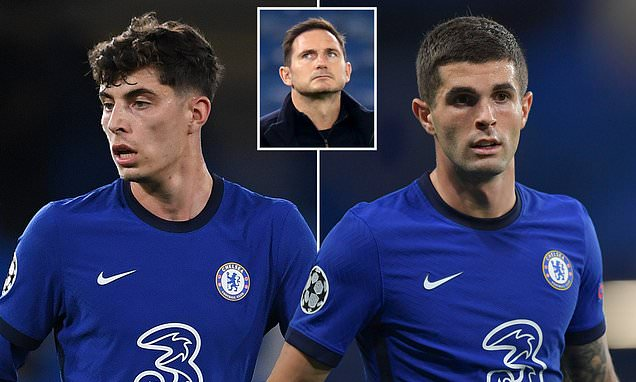 Havertz and Pulisic 'set to miss Chelsea's trip to Newcastle'