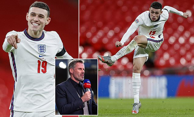 Jamie Carragher excited by Phil Foden's  performance against Iceland