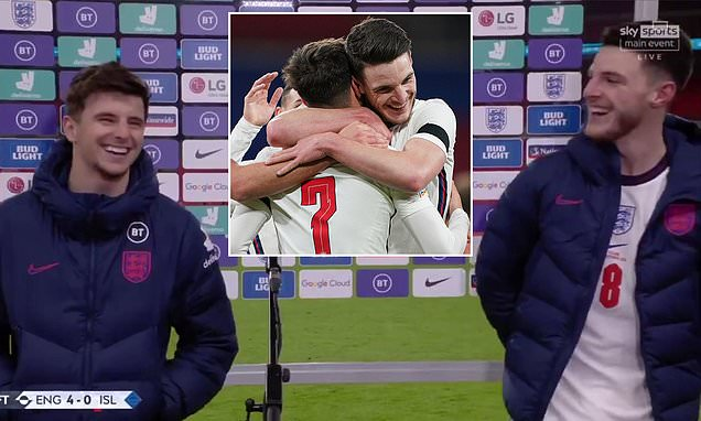 Lifelong mates Declan Rice and Mason Mount describe 'special' moment