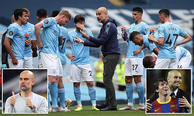Guardiola ends speculation over Man City future by agreeing extension