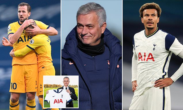 A year to the day since Jose took over at Tottenham