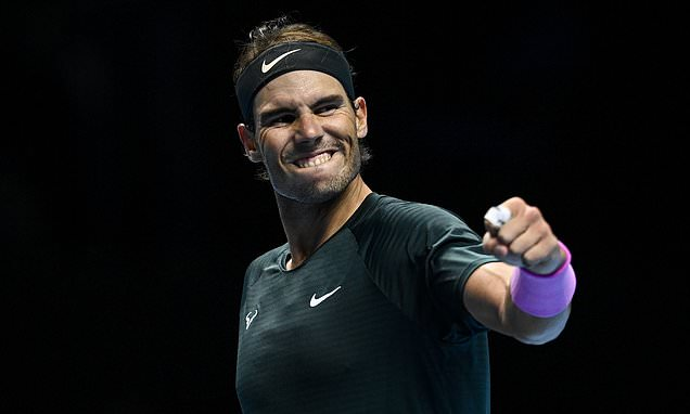 Rafael Nadal books place in last four of the ATP finals