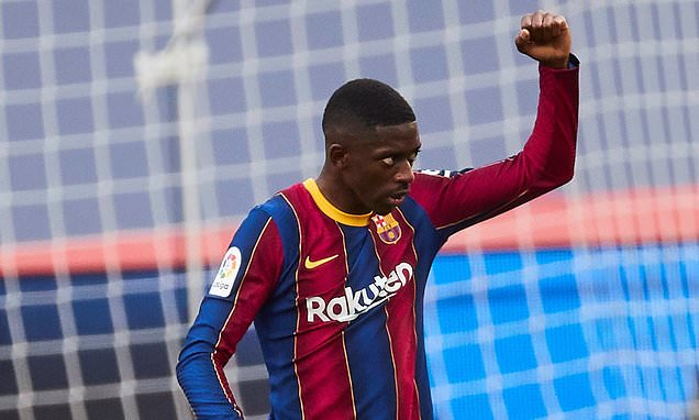 Barcelona worried that Dembele has a 'plan' to run down contract