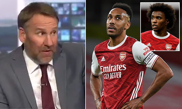 Paul Merson claims Willian 'looks lost' at Arsenal following move