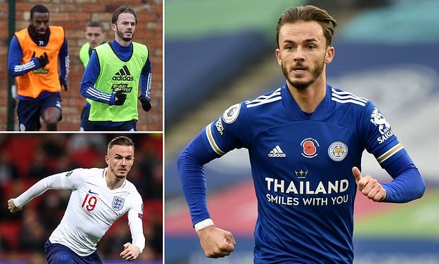 EXC INT: Maddison desperate to be England and Leicester's main man