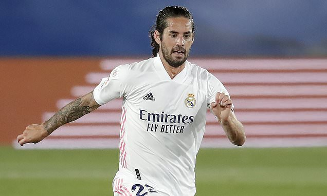 Isco 'ready to leave Real Madrid in January'