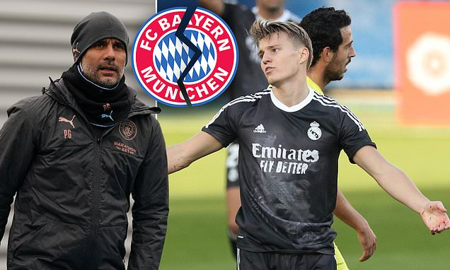 Pep Guardiola planned to make Martin Odegaard 'best in the world'