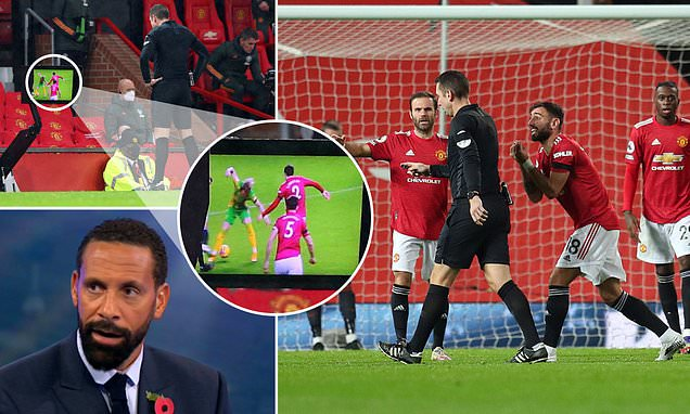 Ferdinand SLAMS referee Coote for overturning 'nailed-on' penalty