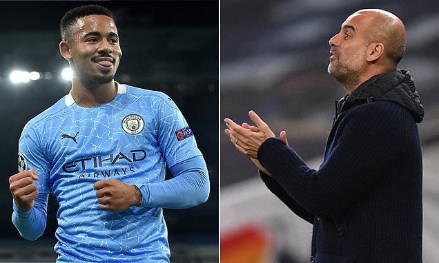 Manchester City 'will double Gabriel Jesus' wages to £150,000 a week