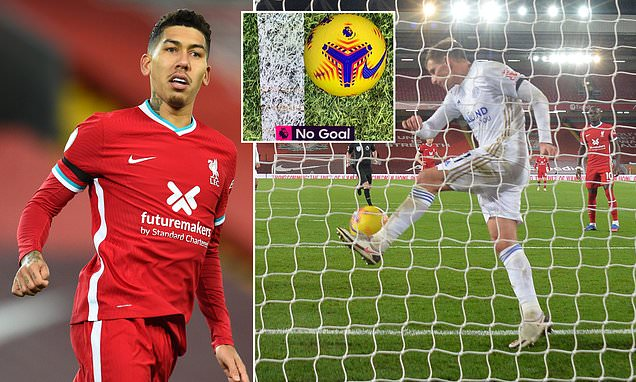 Technology denies Roberto Firmino goal by a centimetre in Reds win
