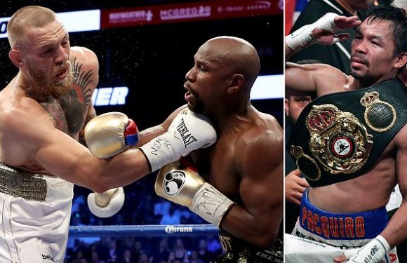 McGregor will 'definitely' fight Pacquiao says UFC star's manager