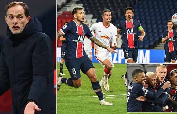 Thomas Tuchel explodes with rage in after PSG's win over RB Leipzig