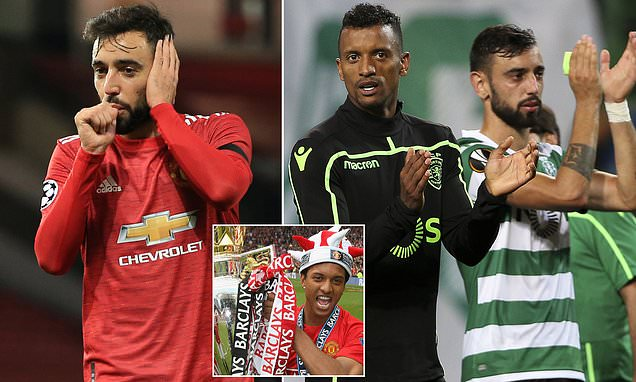 Bruno Fernandes 'doesn't care about mistakes, only success', says Nani