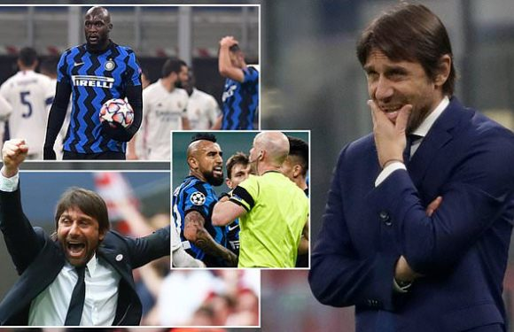 Antonio Conte could be on the brink at Inter after European calamity