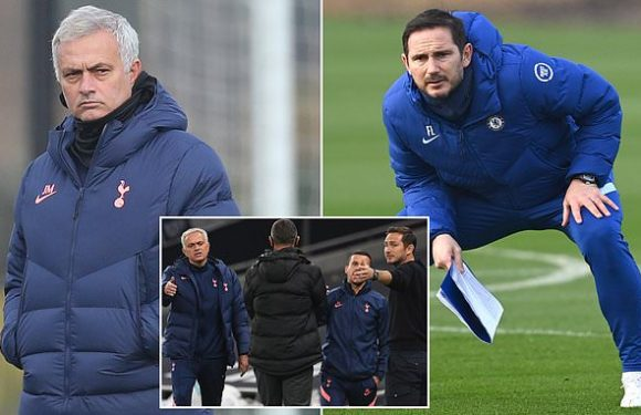Jose is back at the Bridge stoking rivalry with his old mucker Lampard