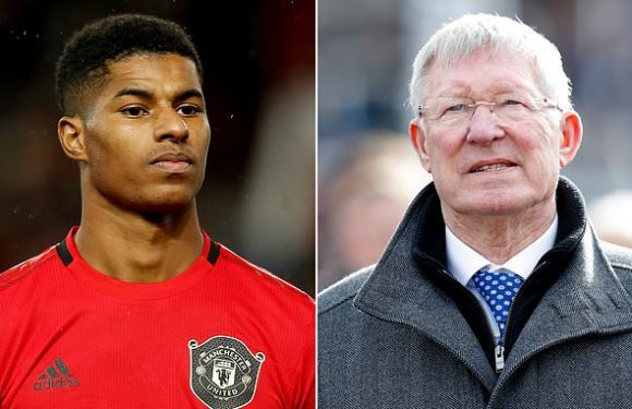 Sir Alex Ferguson praises Rashford for tackling child food poverty