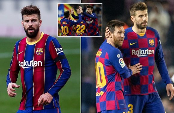 Pique hopeful Messi will remain at Barca despite ongoing speculation