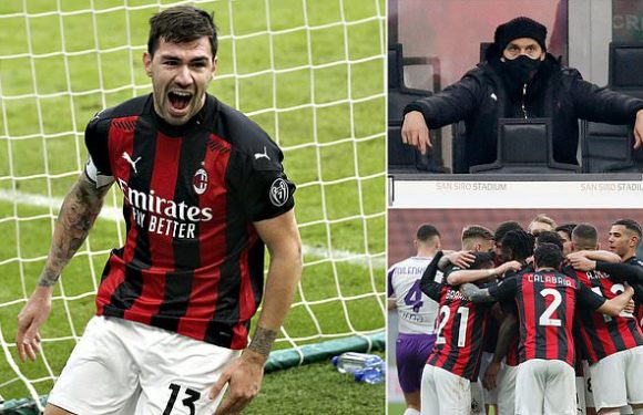 AC Milan 2-0 Fiorentina: Rossoneri extended lead at top of the table