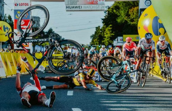 Dylan Groenewegen banned from cycling for nine months after crash which left Fabio Jakobsen in a coma