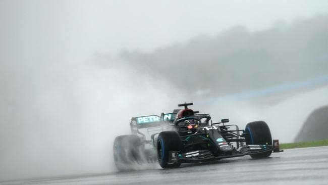Turkish Grand Prix track gets worse with torrential rain during practice