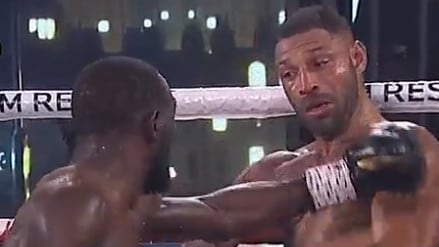 Hellacious Terence Crawford right hand jab ends Kell Brook in fourth round of world title fight