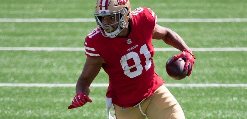 49ers to activate TE Jordan Reed from IR ahead of 'TNF' matchup vs. Packers