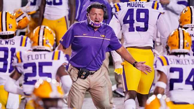 2021 college football recruiting class rankings: LSU moves into top five