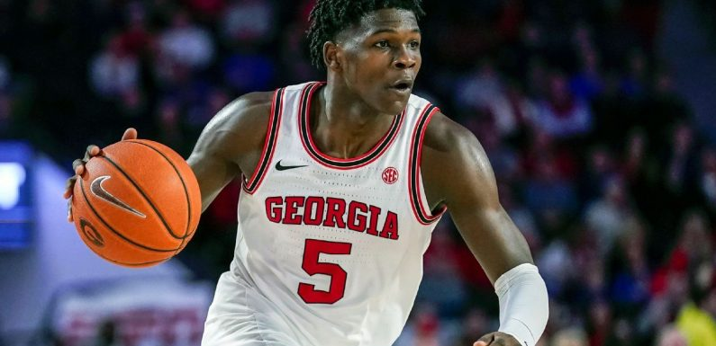 Georgia's Edwards goes No. 1 overall to Wolves