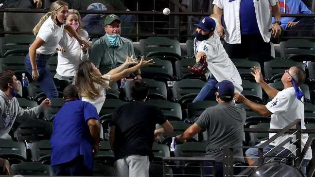 Think catching a foul ball is hard? How 2020 taught us it's even tougher than we thought
